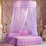WP Ceiling Mosquito Nets Ceiling Princess Dome Book Double Bed With 1.8 M Bed