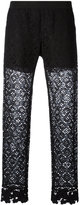 Ermanno Scervino lace detail pants