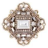 Erickson Beamon 'Fantastic Voyage' Swarovski crystal brooch