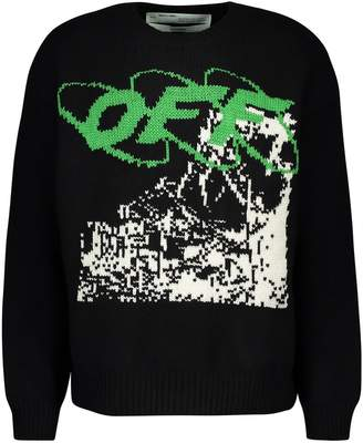 Off-White Off White Ruined Factory jumper