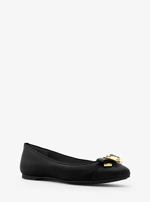 Michael Kors Alice Leather Ballet Flat