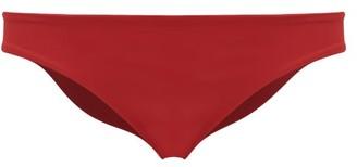 Haight Mid-rise Bikini Briefs - Dark Red