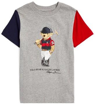 Ralph Lauren Kids Polo Bear T-Shirt (5-7 Years)