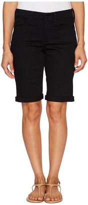 NYDJ Women's Briella Roll Cuff Jean Shorts in Colored Bull Denim