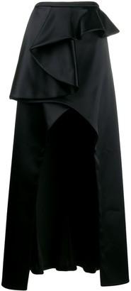 Patrizia Pepe Draped Maxi Skirt