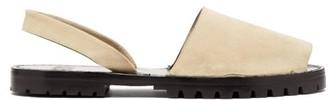 Stine Goya Suede Slingback Sandals - Beige
