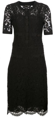 Adam Lippes Tailored Lace Dress