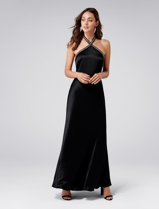 Ever New Sloan Embellished Arrow Neck Gown