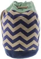 Toms Womens Reef Chevron Chevron Linen Blend Bucket Handbag
