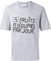 Ami Alexandre Mattiussi slogan print T-shirt