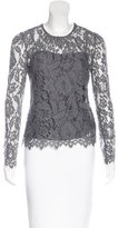 Milly Lace Long Sleeve Top