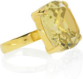 Monica Vinader Lemon quartz ring