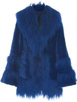 Anna Sui La Belle Faux Fur Coat