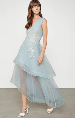 BCBGMAXAZRIA Tulle Evening Dress
