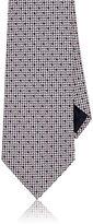 Ermenegildo Zegna Men's Geometric Silk Necktie-PINK