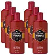Old Spice Nomad Men's 2 in 1 Shampoo and Conditioner, 6 Count