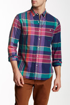 Bonobos Montauk Madras Plaid Long Sleeve Slim Fit Shirt