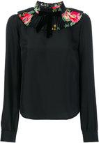 Manoush ruffled neck blouse