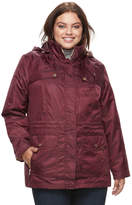 Details Plus Size 2-in-1 Jacket