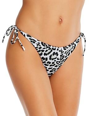 Peixoto Toni Animal Print Tie-Side Bikini Bottom