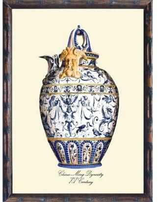 Casbah Design Ming Vase Print C