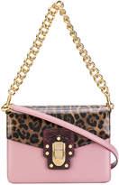 Dolce & Gabbana Lucia leopard print shoulder bag