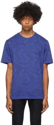 Etro Blue Paisley T-Shirt