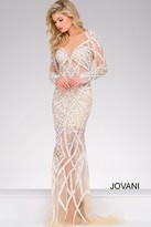 Jovani Long Embellished Pageant Dress 32202