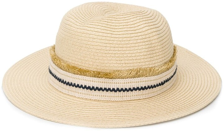 d4d356a30 Zeus+Dione embroidered band panama hat
