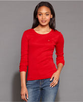 Tommy Hilfiger Long-Sleeve Crew-Neck Top
