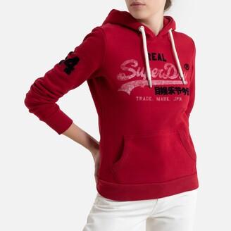 Superdry Cotton Mix Logo Hoodie