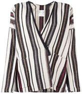 Forte Forte multi striped jacket - women - Linen/Flax/Polyamide/Viscose/Virgin Wool - 0