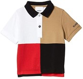 Burberry Mini Monty Polo (Infant/Toddler) (Archive Beige) Boy's Clothing