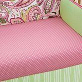 My Baby Sam Pink Paisley Splash Crib Sheet