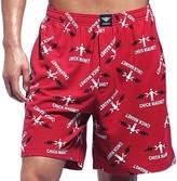 Godsen Men's Cotton Sleep Shorts Casual Beachshorts (L, )