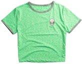Cocobla ET Teen Girls 3D Print Aliens Crop Top Short Sleeve d T-Shirt