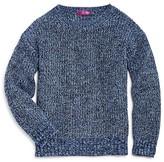Aqua Girls' Marl Knit Sweater - Sizes S-XL