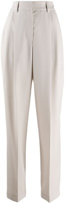 Brunello Cucinelli Wide Leg Tailored Trousers