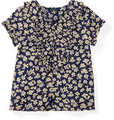 Ralph Lauren Floral Ruffled Cotton Top