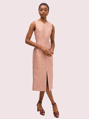 Kate Spade Flora Leopard Midi Dress