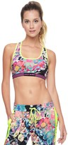 Juicy Couture Strappy Rainforest Floral Compre Bra