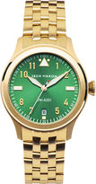 Jack Mason Jm-a201-007 Aviation Yellow Gold-plated Stainless Steel Watch