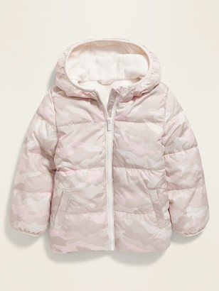 Old Navy Unisex Camo-Print Frost-Free Puffer Jacket for Toddler
