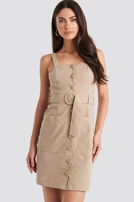 Trendyol Yol Belted Midi Dress