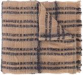 Fabiana Filippi striped frayed scarf