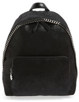 Stella McCartney Falabella Faux Leather Backpack - Black