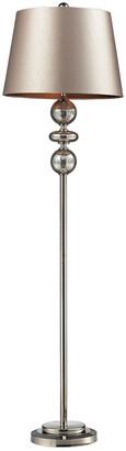 Artistic Home & Lighting 68In Hollis Antique Mercury Glass Led Floor Lamp