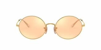 Ray-Ban RB1970 Oval Polarized Rectangular Sunglasses