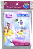Disney Princess Disosable Floor Topper 5 Mats Total