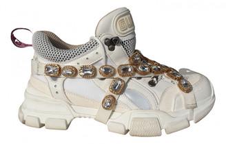 Gucci Flashtrek White Rubber Trainers